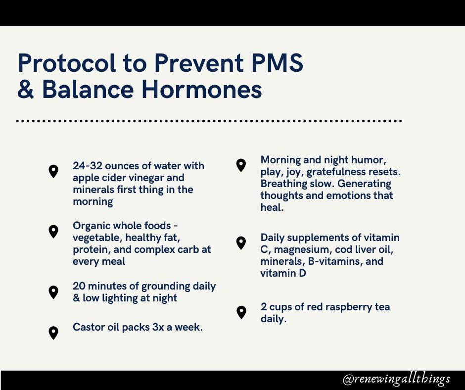 prevent PMS