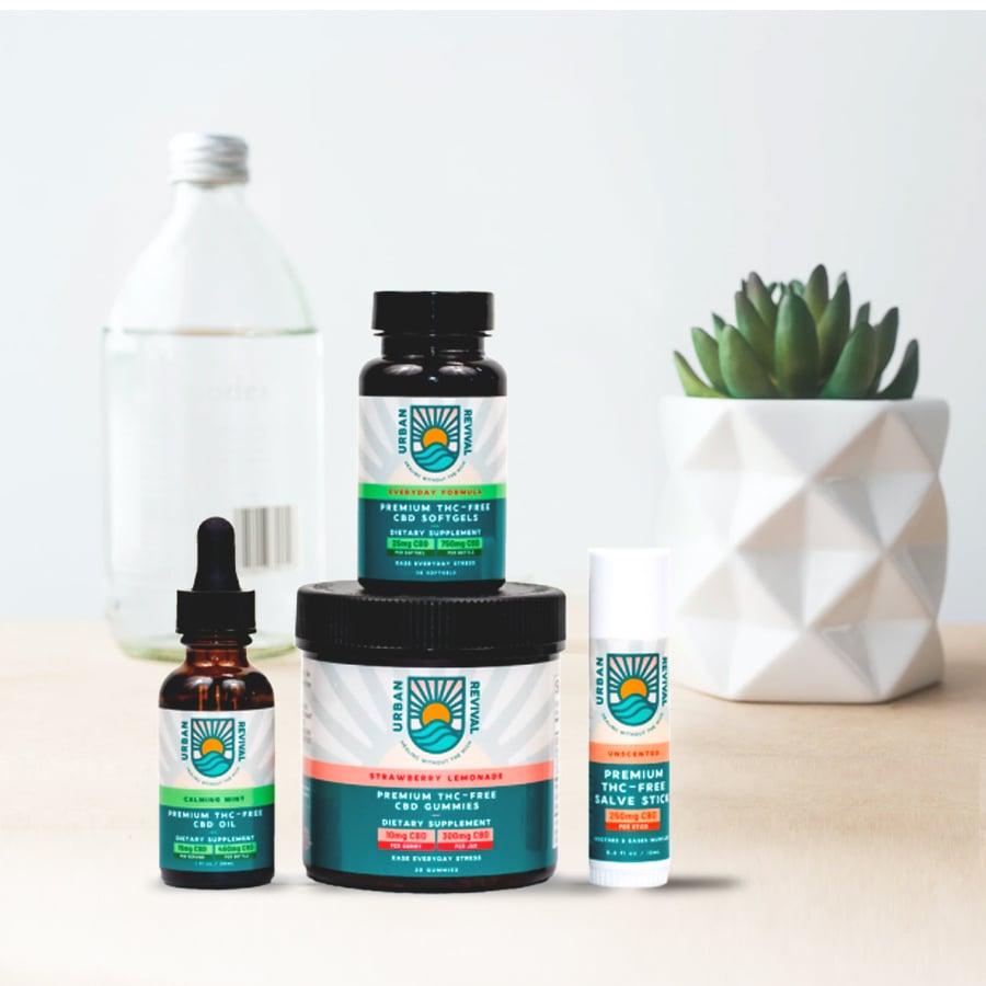 Urban Revival CBD - THC Free Products