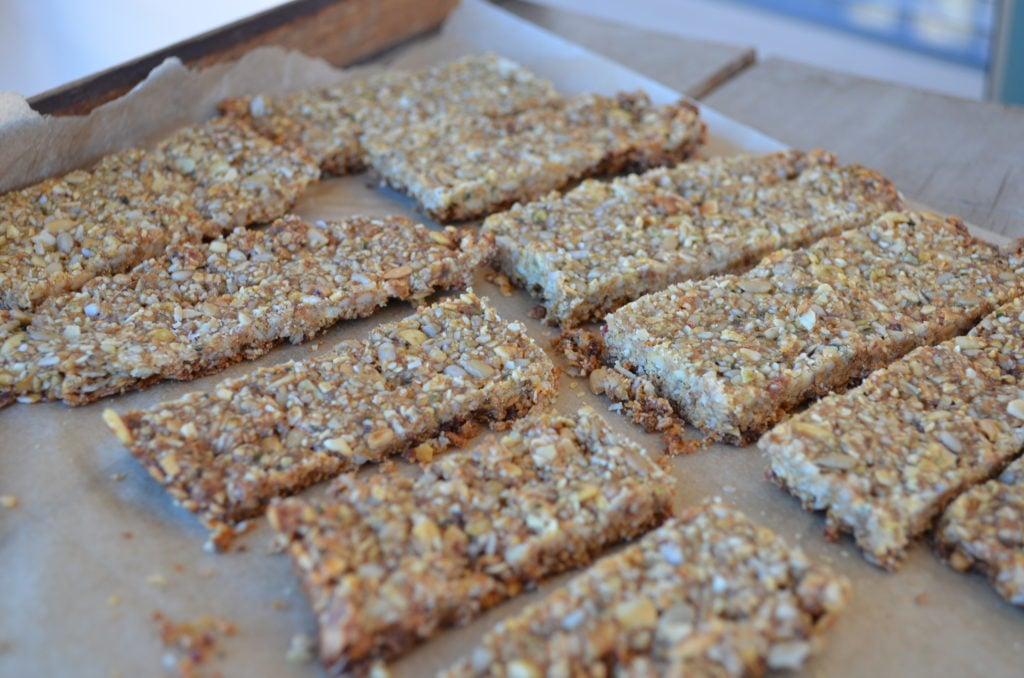 Healthy Paleo Seed Bars