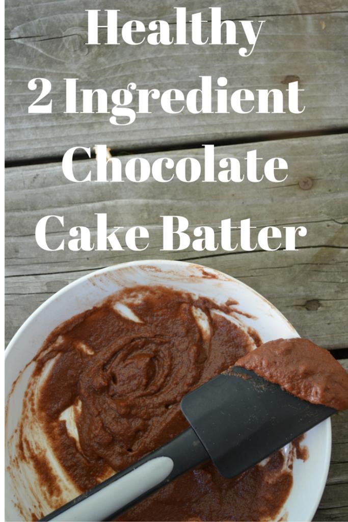 Beautifying ChocolateCake Batter