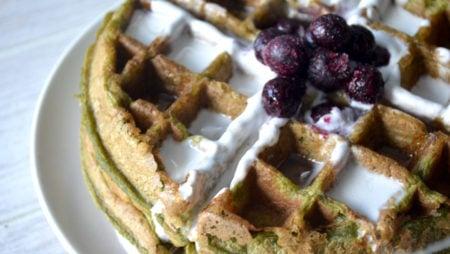 Protein Paleo Waffles