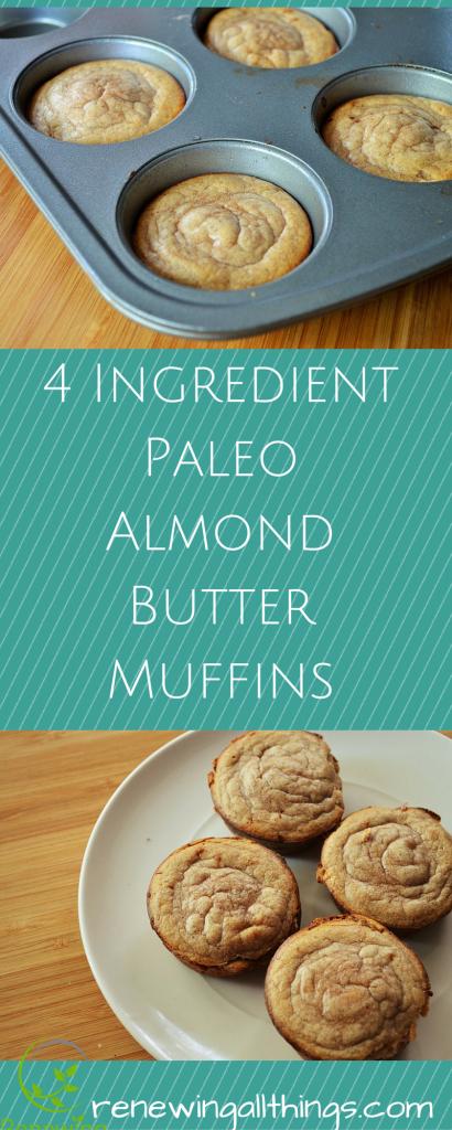 Flour-less Almond Butter Muffins