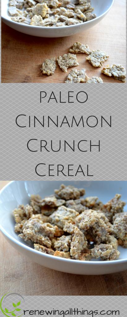 Grain Free Cinnamon Crunch Cereal