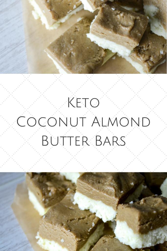 Keto Coconut Almond Butter Bars