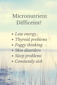 Micronutrient Difficeint-