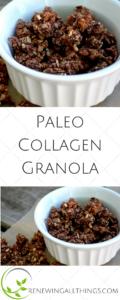 Paleo Collagen Granola