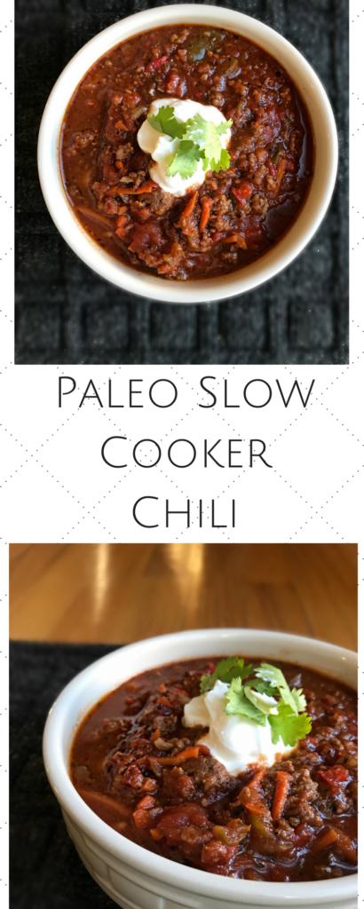 Paleo Slow Cooker Chili