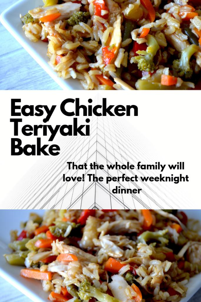 Easy Chicken Teriyaki Bake