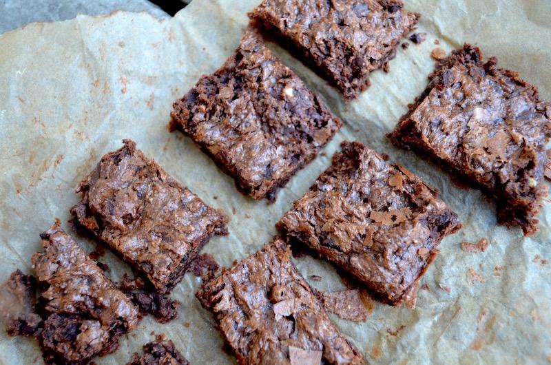almond butter fudge brownies