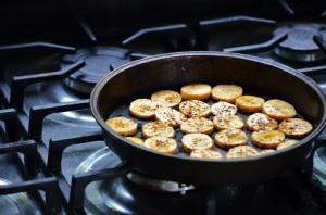 bake plantians