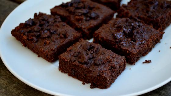 coconut flour brownie