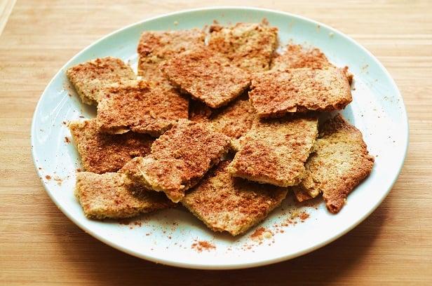 honey-crackers