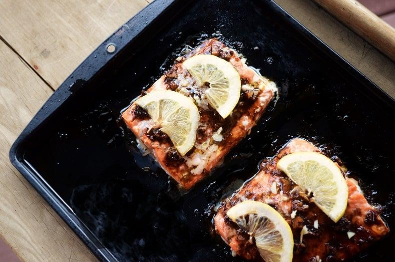 honey salmon