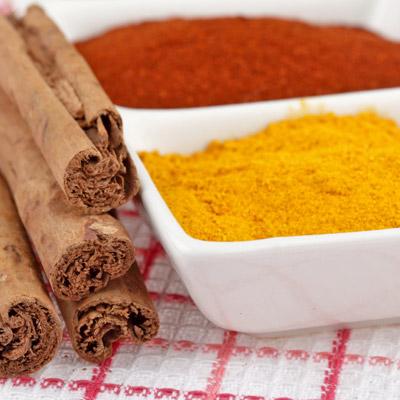 turmeric-cayenne spices